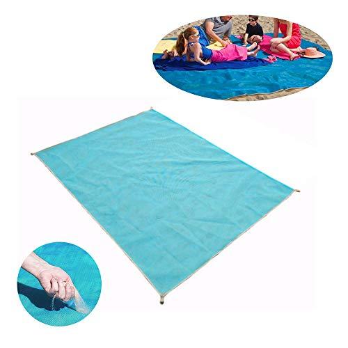 WEIFLY Pique-Nique Couverture Tapis Imperméable Extra Large, Camping en Plein Air Tapis Coussin Pique-Nique Pliante Tapis Siège Étanche Beach Mat Couverture Extérieure Beach Blanket,Gris