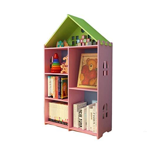 FABAX Bücherregal Kreative Umweltbücherregal Moderne Minimalist Rack-Kinderbilderbuch Studentenbücherregal Kindergarten Schließfächer...