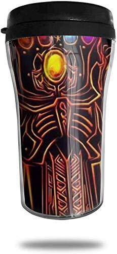centimeter_ Kaffeebecher Ir-on_M-an Infinity Stone doppelwandiger Vakuum-Reisebecher mit Deckel 8,5 oz