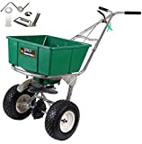 Lesco 101186 High Wheel Walk-Behind Fertilizer Spreader with 092463 Agitator Repair Kit (Bundle, 2 Items)