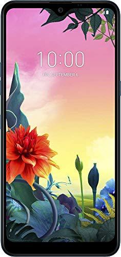 LG K50S smartphone Dual SIM con Tripla fotocamera posteriore, Display 6.5'' HD+, batteria da 4000mAh, Selfie da 13MP, Audio DTS:X, Octa-Core 2.0GHz, Memoria 32GB, 3GB RAM, Android 9, Blue [Italia]