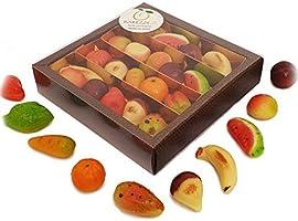 Fruchte aus Marzipan erstklassiger bekannt die in Sizilien als Fruchte aus Martorana in schoner Geschenkbox....