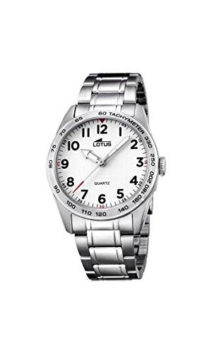 Lotus Reloj Analógico para Unisex de Cuarzo con Correa en Acero Inoxidable 18275/1