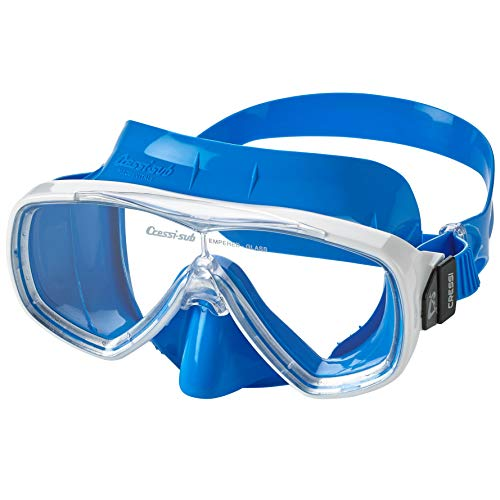 Cressi Adult Single Lens Snorkeling Diving Mask- Excellent View | Onda: made in Italy