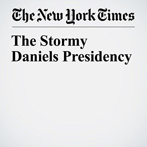 The Stormy Daniels Presidency copertina