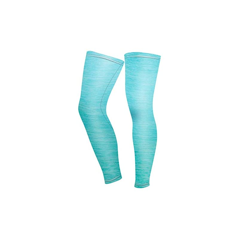 Yuluo Outdoors Sports Cycling Accessories Bike Leg Sleeves – Unisex Full Leg Sleeves Overknee Compression Calf Shin…