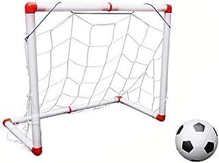 120CM Mini Football Soccer Goal Post Net Set with Pump Kids Sport Toy