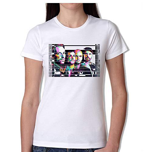Novesei T-Shirt Donna Coldplay (S)