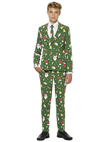 OppoSuits Jungen Men Suit Business Anzug Hosen Set, Santaboss, 14 EU