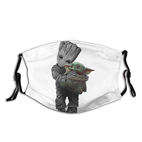 Mundschutz The Baby Yoda Baby Groots Fan Mouth Cover Face Cover Headscarf Outdoor Seamless Reusable Mouth Scarf