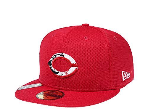 New Era Cincinnati Reds 2020 59Fifty Fitted Cap - Gorra, Unisex, rojo