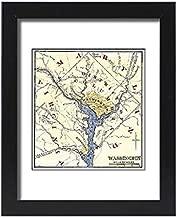 Media Storehouse Framed 15x11 Print of Washington DC During The Civil War (5879756)