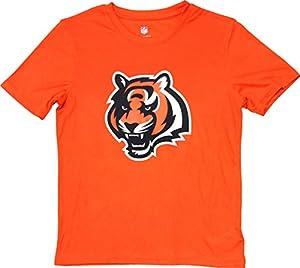"Cincinnati Bengals Youth Orange""Energy"" Performance Primary Logo T-Shirt (Medium 10/12)"