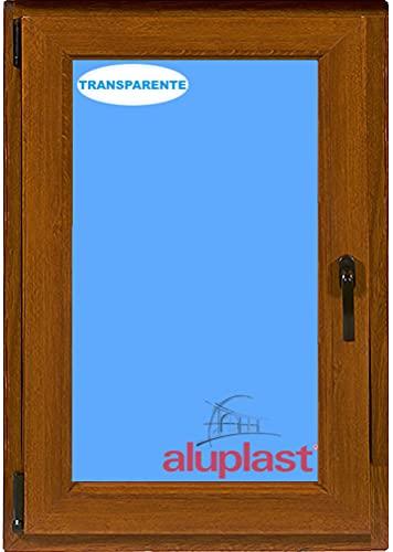 ECO-BLU (V20T) Ventana Pvc 800x1000 Oscilobatiente Izquierda color madera Roble dorado, 800 x 1000 mm