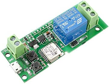 SunFounder WiFi Relay USB DC 5V Relay Module Smart Home Wireless Switch Controller with APP product image