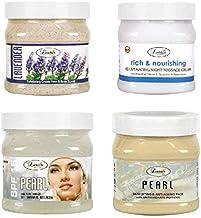 Luster Customised Facial Kit (Lavender Scrub + Rich & Nourishing Cream + SPF 15 Pearl Gel + Pearl Skin Lifting & Anti-Aging Face Pack) Paraben & Sulfate Free- 2000 ml