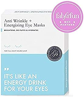 Grace & Stella Anti-Wrinkle + Energizing Gold Collagen Eye Masks   Depuffing Undereye Patches   Vegan & All-Natural (12 Pairs)