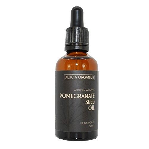 Alucia Organics Zertifiziertes organisches Granatapfelöl 50ml