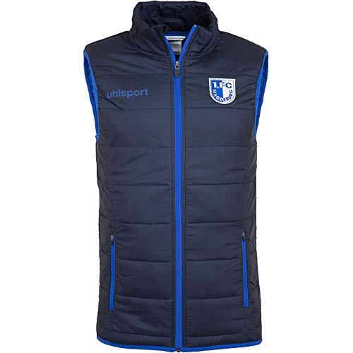 uhlsport 1. FC Magdeburg Ultra Lite Down Vest Weste (XL, Marine)