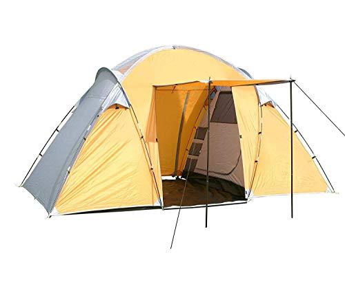 MONTIS HQ Mexico Zelt für 2 bis 4 Personen Mann, wasserdicht & Ultra-leicht mit Innenzelt, Vordach & Moskitonetz, Premium-Zelt, geeignet als Reise- Trekking- & Camping-Zelte mit Tragetasche