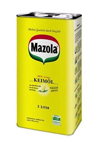 Mazola Keimöl 5 L, 1er Pack (1 x 5 L)