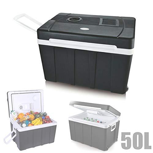 EnweTon Nevera para Furgoneta Camper, 50L Mini Refrigerador Portátil Neveras De Viaje Accesorios para Coche para Camión De Viaje, Dormitorio, Oficina