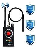 Mogao Caves Anti Spy Detector, RF Detector, Camera Finder RF Signal Detector, Wireless Audio Hidden Camera Detector Laser Lens GPS Tracker Listening Device Finder Wireless Signal Alarm Audio Spy