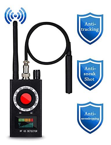 Detector Anti espía de Mogao Caves, Detector de RF, Detector de buscador de cámara, Detector de señal de RF, Detector de cámara Oculta Rastreador GPS Buscador de Dispositivo de búsqueda Alarma de