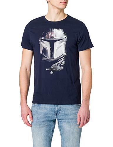 cotton division MESWMANTS014 Camiseta, Azul Marino, S para Hombre