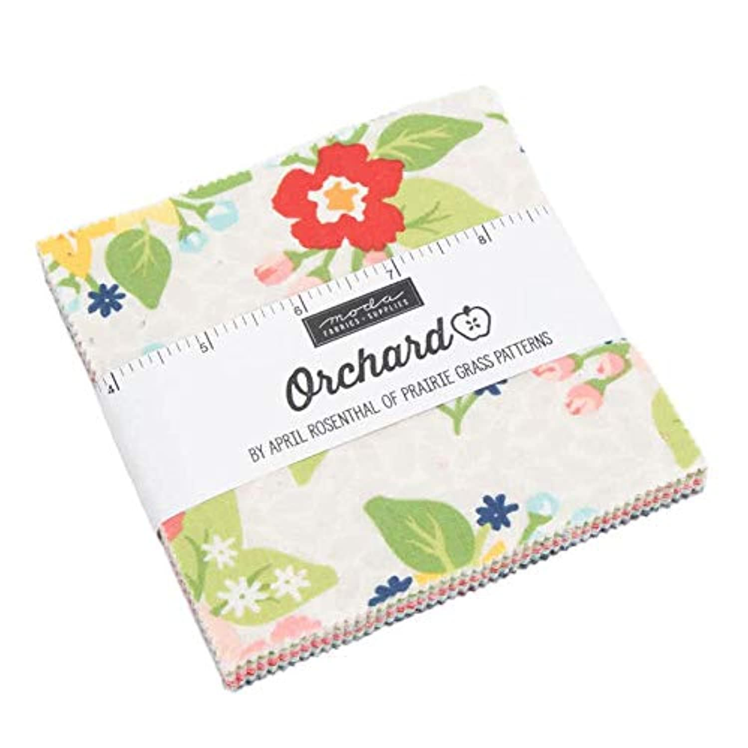 Orchard Charm Pack by April Rosenthal of Prairie Grass Patterns; 42-5
