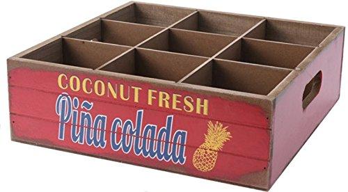 Cocktail Tablett versch. Designs (Pina Colada)