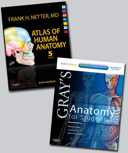 Netter Atlas of Human Anatomy and Gray's Anatomy for...