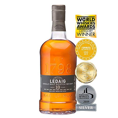 Ledaig 10 Jahre - Single Malt Whisky (1 x 0.7 l)