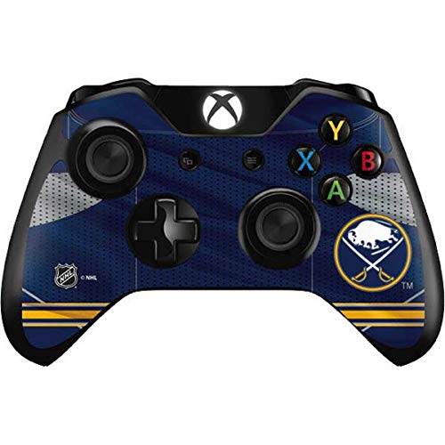 Skinit Decal Gaming Skin Compatible with Xbox One Controller - Officially Licensed NHL Buffalo Sabres Home Jersey Design