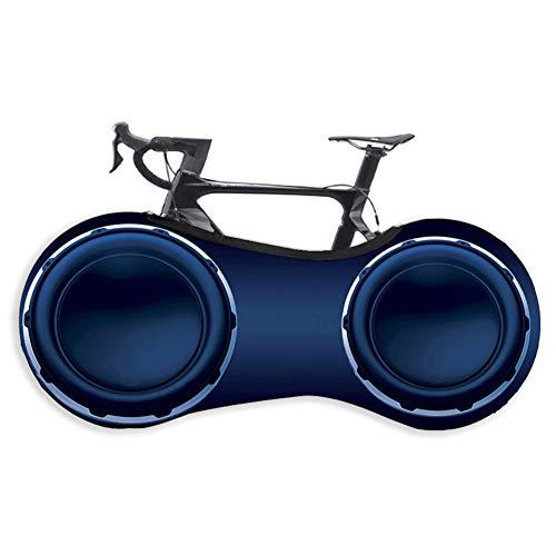 Xinzistar Fahrradabdeckung Wasserdicht Staubgeschützte Fahrradschutzhülle Abdeckung Fahrrad Schutzhülle Aufbewahrungstasche für Mountainbikes Falträder MTB Rennrad(3D Sound)