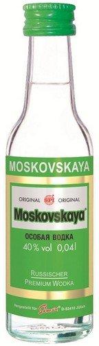 Moskovskaya Wodka 'Original' Russischer Vodka 25 x 0,04l Tray