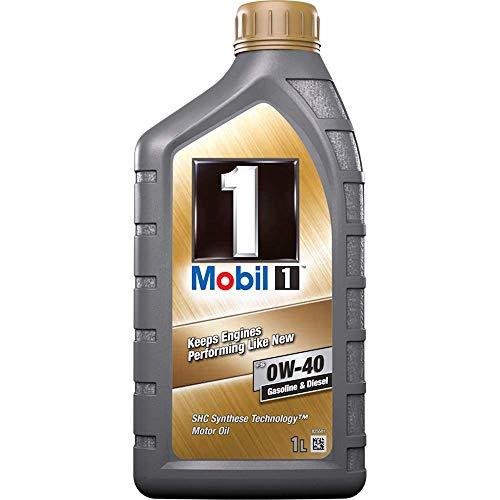 Mobil 1 FS 0W40 153672, olio per motori sintetico, oro, 1l