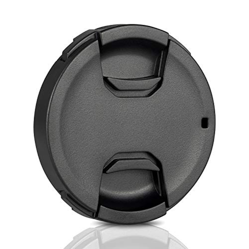 Ares Foto® 62mm Snap-On Objektivdeckel, extra Starke Federn, Kamera-Schutzdeckel aus 100% recyceltem Kunststoff - kompatibel mit Nikon, Canon, Sony, Sigma, Tamron, Olympus, Fujifilm.