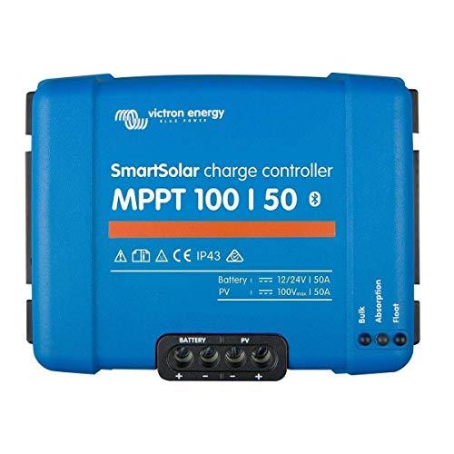 Régulateur de charge solaire smartsolar mppt 100/50 (12/24v) - victron energy