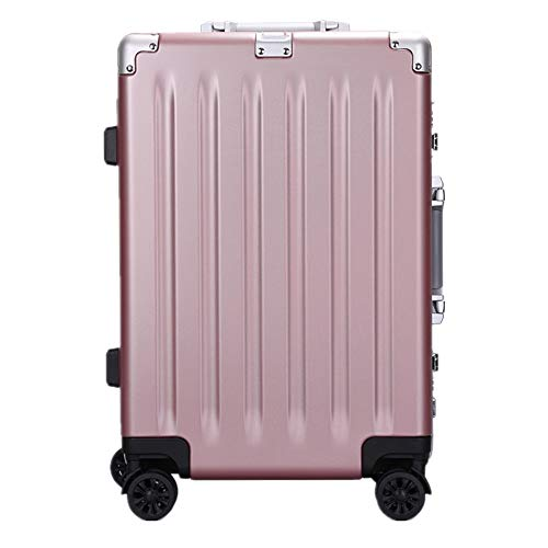 Lowest Prices! Checked TSA lock suitcase Luggage Suitcase Trolley Suitcase TSA Locks Aluminum Frame ...