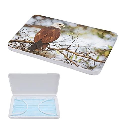 Porta Mascarillas Infantil Portamascarillas Caja Para Guardar Mascarillas Para Niños Y Niñas Águila Ramita 11cmx19cm