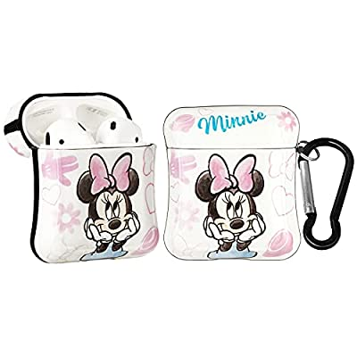 Amazon - 50% Off on AirPods Case, Cute Cartoon Minnie Mouse AirPod Case Cover Compatible