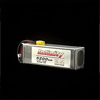 Quickbuying Infinity 6S 22.2V 5200mAh 70C Graphene LiPo Battery XT60 Support 15C Boosting Charge For RC Model Multirotor Quadcopter Part