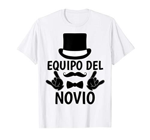 Hombre Equipo Del Novio Despedida de Soltero Groom Boda Regalos Camiseta
