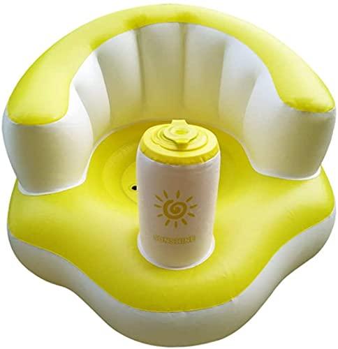 ベビーソファー バスソファ 空気式 お座り練習 ベビーチェア バスチェア ポンプアップ 赤ちゃん 食事用の椅子 お風呂 クッション 滑り止め バスシート