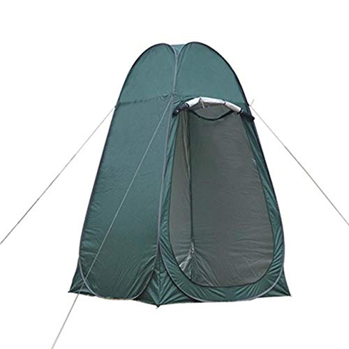 Lamyanran Privacy Tent for Portable Toilet Pop Up Shower Tent Outdoor Camping Toilet Tent Chang Room Shower Tent With Carrying Bag Moving Bathroom Privacy Toilet Shelter Easy Set Up (Color : Green)