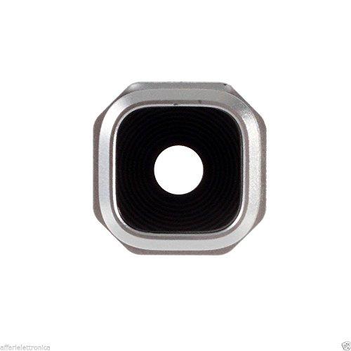 Lente de repuesto de cristal para cámara de fotos para Samsung Galaxy A5 A510 2016 (6) Silver