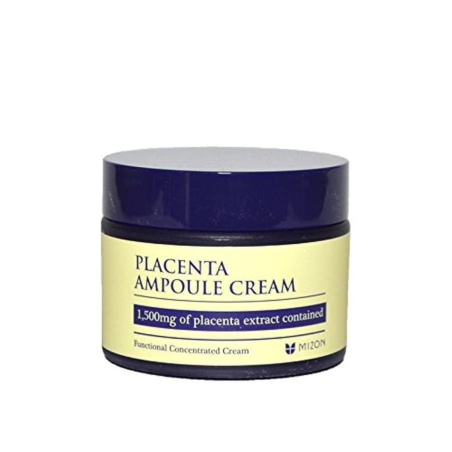転用看板アレルギーMizon Placenta Ampoule Cream - 胎盤アンプルクリーム [並行輸入品]