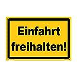 kleberio® - Mantener la Entrada Libre. - Cartel de Advertencia de plástico