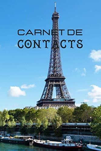 Carnet de contacts: Format moyen  carnet de contacts par section  répertoire téléphonique original  carnet d'adresses et de courriels  sauvegarde informatique  carnet de contacts nature